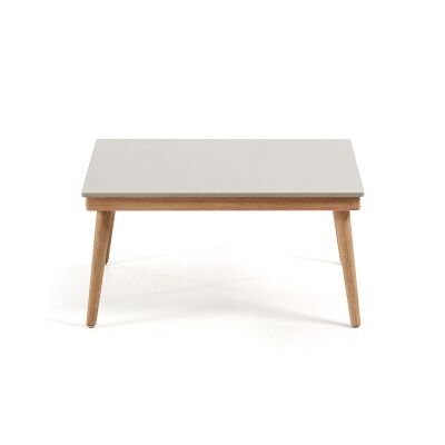 Horwood Eucalyptus Timber Indoor / Outdoor Coffee Table, 80cm