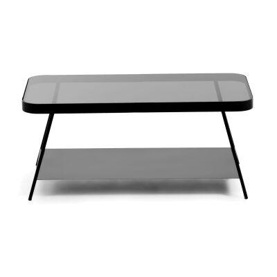 Mosedale Metal & Glass Coffee Table, 90cm