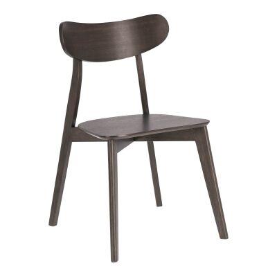Matira Wooden Dining Chair, Espresso