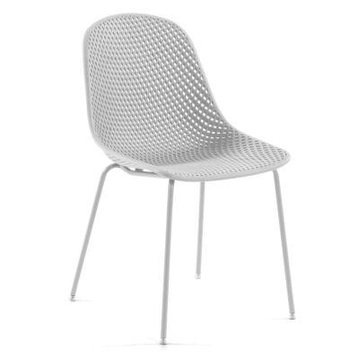 Mercer Indoor / Outdoor Dining Chair, White