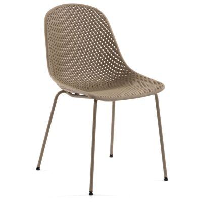 Mercer Indoor / Outdoor Dining Chair, Beige