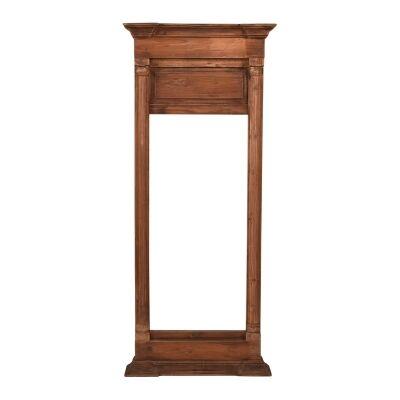 Kensington Timber Frame Hall Mirror, 142cm