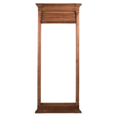 Kensington Timber Frame Hall Mirror, 200cm