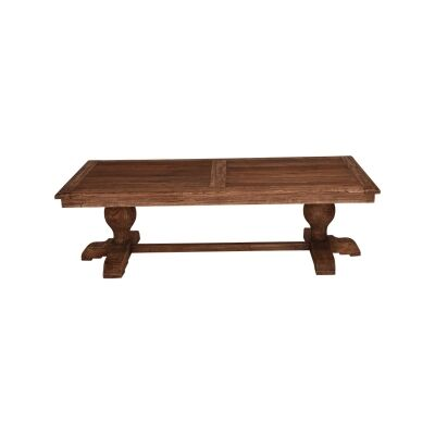 Marseille Reclaimed Elm Timber Coffee Table, 160cm