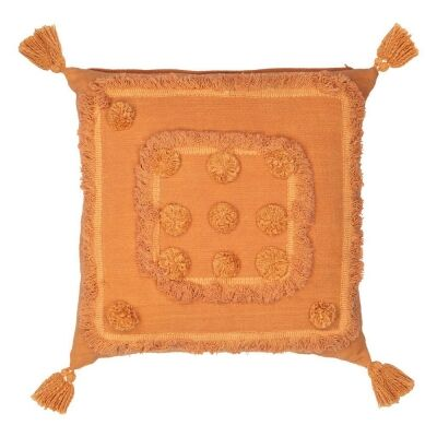 Tulare Cotton Scatter Cushion, Terracotta