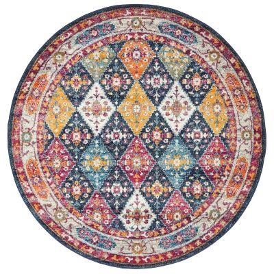 Century No.933 Bohemian Round Rug, 200cm