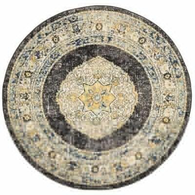 Century No.955 Bohemian Round Rug, 240cm