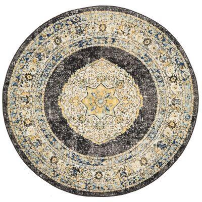 Century No.955 Bohemian Round Rug, 200cm