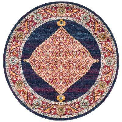 Century No.966 Bohemian Round Rug, 150cm