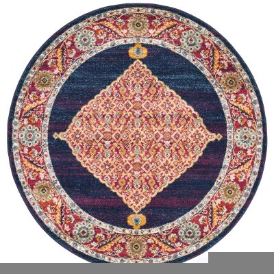 Century No.966 Bohemian Round Rug, 240cm