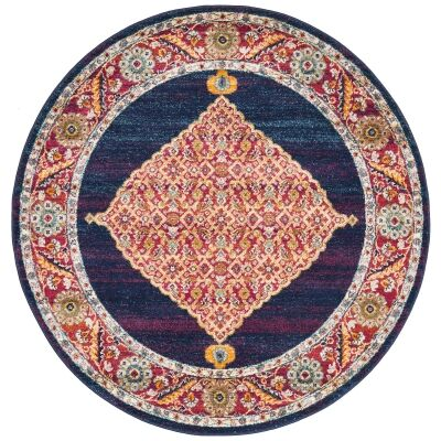 Century No.966 Bohemian Round Rug, 200cm