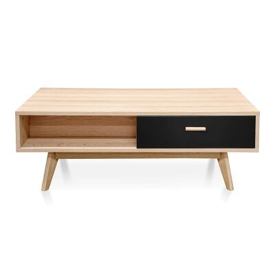 Kabo Wooden Coffee Table, 120cm