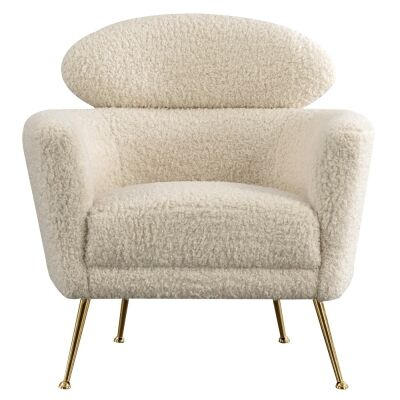 Oneal Faux Fur Armchair