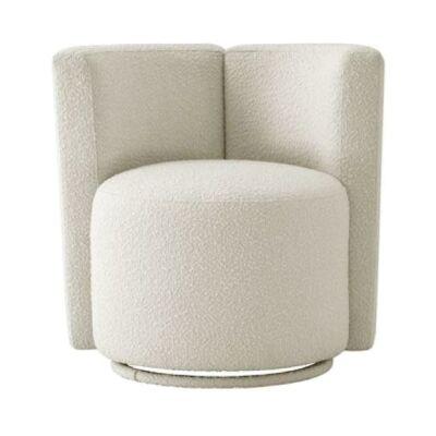 Rosalia Faux Lambskin Lounge Chair