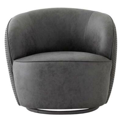 Bassa Fabric Lounge Armchair