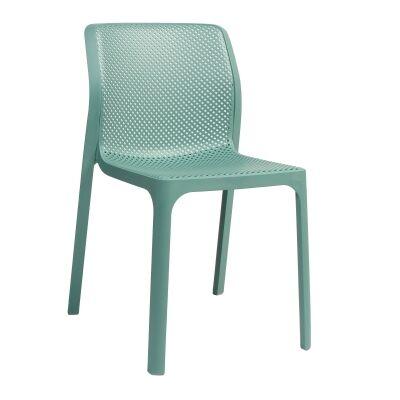 Bit Italian Made Commercial Grade Indoor/Outdoor Dining Chair, Green