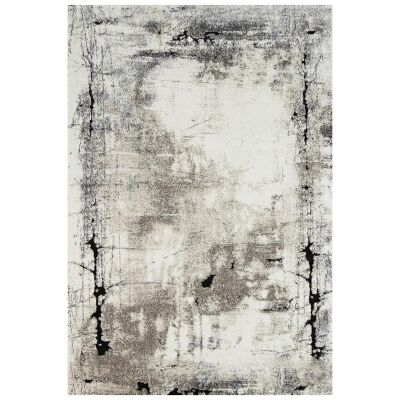 Vision Abstract Modern Rug, 380x280cm, Beige