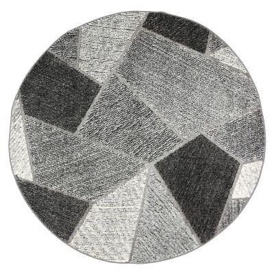 Vision Urban Round Rug, 160cm, Grey