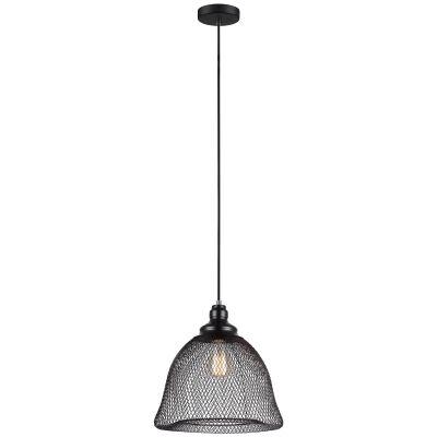 Cheveux Iron Mesh Pendant Light, Large Bell