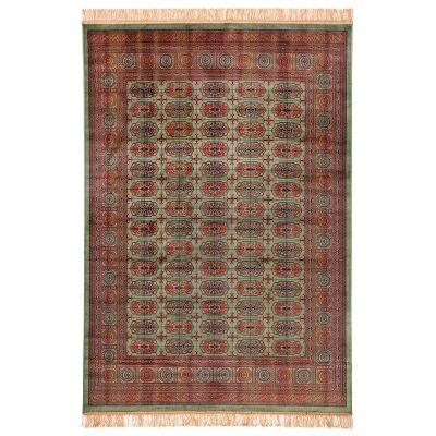 Chiraz Adani Traditional Oriental Rug, 137x100cm, Green
