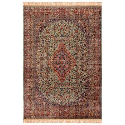 Chiraz Zelda Traditional Oriental Rug, 200x137cm, Green