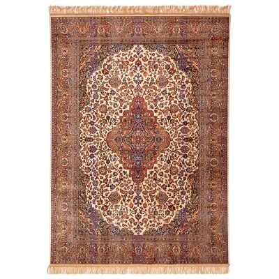 Chiraz Zelda Traditional Oriental Rug, 200x137cm, Beige