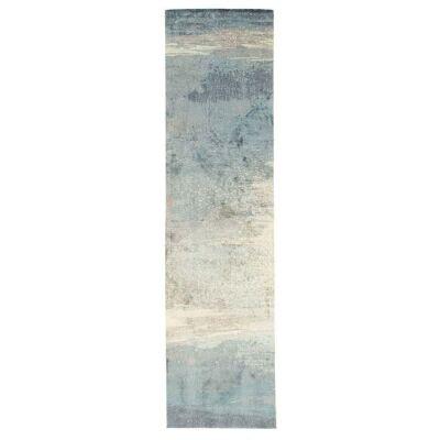 City Impression Modern Runner Rug, 76x400cm, Blue
