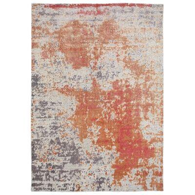 Classic No.975 Modern Rug, 225x155cm, Orange / Pink