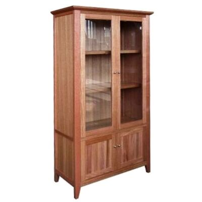 Thirlmere Tasmanian Oak Timber Display Cabinet