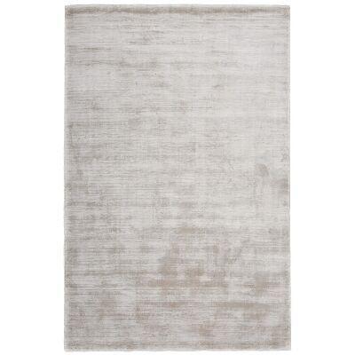 Camille Hand Knotted Wool & Viscose Rug, 120x70cm, Camel Hair