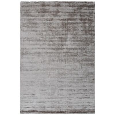 Camille Hand Knotted Wool & Viscose Rug, 120x70cm, Sandstorm