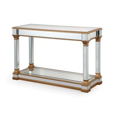Tertenia Mirrored Console Table, 120cm