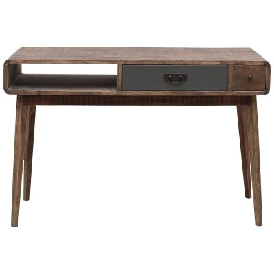Axminster Hand Crafted Mango Wood Timber Console Table, 120cm