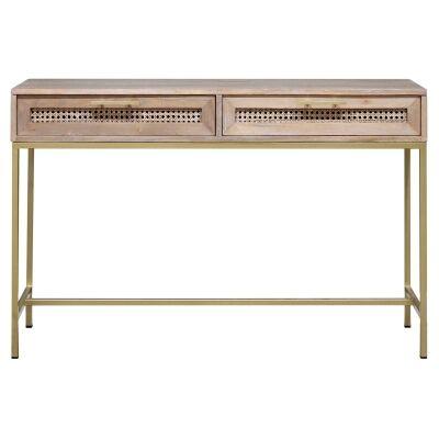 Monterey Sungkai Wood Console Table, 130cm