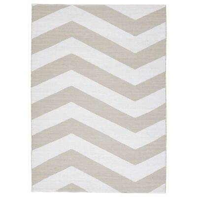 Coastal Chevron 180x270cm Indoor/Outdoor Rug - Taupe