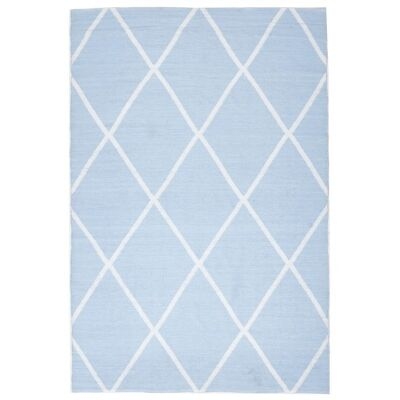 Coastal Diamond 150x220cm Indoor/Outdoor Rug - Sky