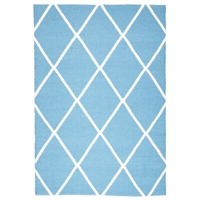 Coastal Diamond 150x220cm Indoor/Outdoor Rug - Turquoise