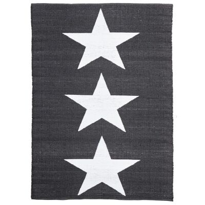 Coastal Star 150x220cm Indoor/Outdoor Rug - Black