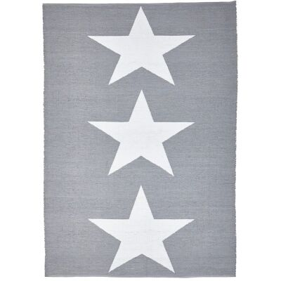 Coastal Star 150x220cm Indoor/Outdoor Rug - Grey