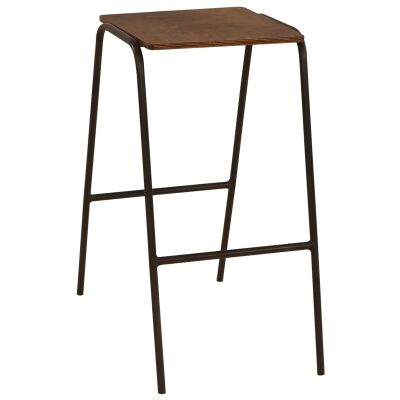 Ladder Commercial Grade Metal Counter Stool