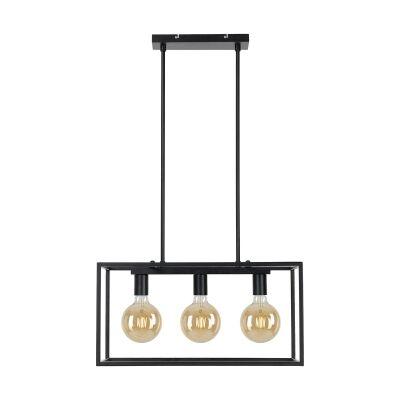 Collins Metal Pendant Light, 3 Light