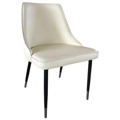 Reno PU Leather Dining Chair, White