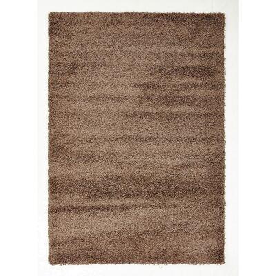 Cosmo Kensington Soft Dense Shag Rug, 290x200cm, Brown