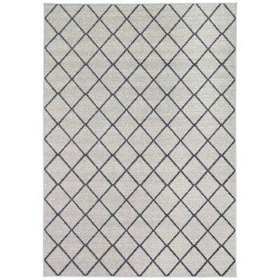Courtyard Avleen Modern Rug, 330x240cm, Beige / Grey