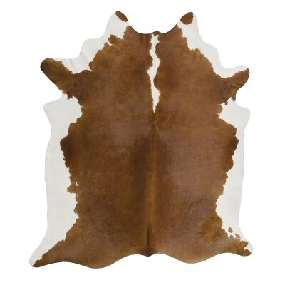 Exquisite Natural Cowhide Rug, 170x180cm, Hereford