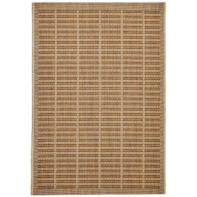 Craft No.392 Modern Indoor / Outdoor Rug, 120x80cm, Beige