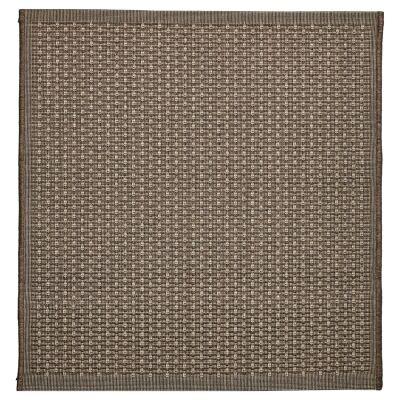 Craft No.393 Modern Square Indoor / Outdoor Rug, 240cm, Bronze