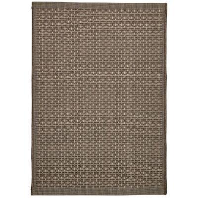 Craft No.393 Modern Indoor / Outdoor Rug, 120x80cm, Bronze