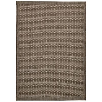 Craft No.393 Modern Indoor / Outdoor Rug, 290x200cm, Bronze