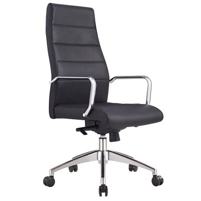 Cruz PU Leather Executive Office Chair, High Back